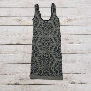 Intimately Free People Olive Green and Black Tank